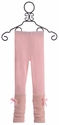 Mae Li Rose Pink Leggings for Little Girls