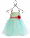 Magpie and Mabel Blue Amelia Dress for Girls