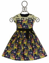 Magpie and Mabel Clementine Wonderland Dress