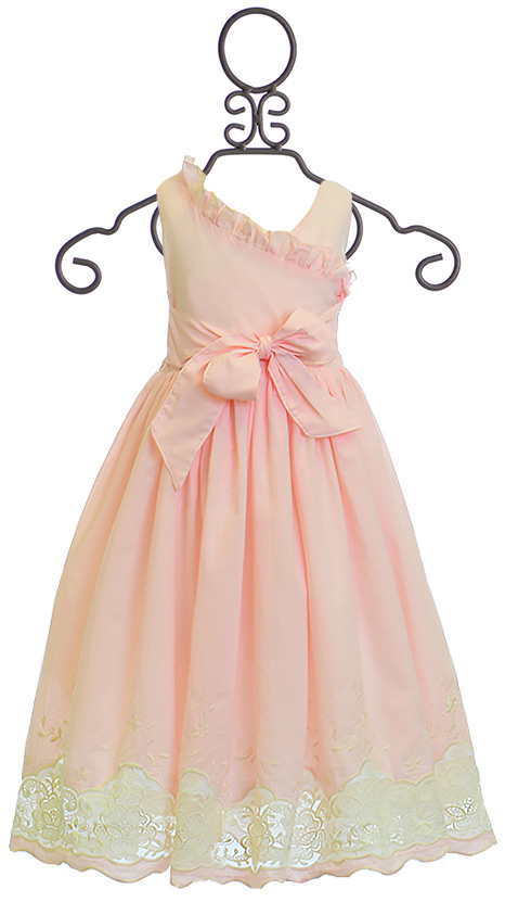 Magpie And Mabel Colette Dress For Girls In Pink 3 5 6