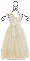 Magpie and Mabel Ivory Dress Colette