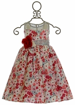 Magpie and Mabel Maeve Frost Dress in Red (2 & 8)