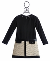 Maria Casero Combo Dress for Tween Girls