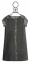 Maria Casero Tween Grey Sequin Dress