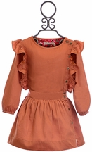 Marin + Morgan Couture Ruffle Dress for Girls