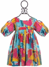 Marin + Morgan Girls Bold Designer Dress
