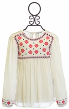 Mayoral Boho Top for Girls