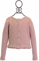 Mayoral Couture Cardigan for Girls in Pink (4,5,6,7)