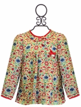 Mayoral Floral Little Girls Top