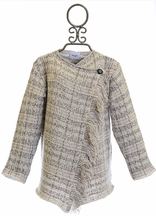 Mayoral Girls Cardigan Earth Tones