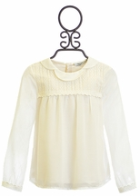 Mayoral Ivory Blouse for Girls