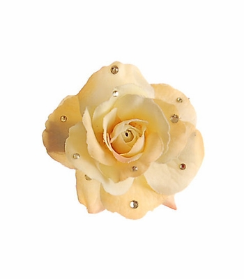Meg Dana Yellow Rose Hairclip