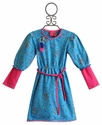 Mim Pi Back to School Dress Speckled Blue