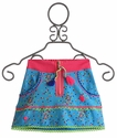 Mim Pi Blue Speckled Girls Skirt