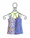 Mim Pi Flower Tank Top for Girls