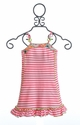 Mim Pi Girls Dress with Stripes