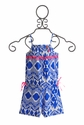 Mim Pi Girls Romper in Blue