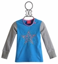 Mim Pi Girls T-Shirt with Sequin Star