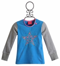 Mim Pi Girls T-Shirt with Sequin Star (4, 5 & 9)