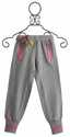 Mim Pi Gray Sweat Pants for Girls (Size 10)