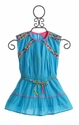 Mim Pi Little Girls Blue Dress