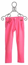 Mim Pi Pink Skinny Jeans for Girls (Size 9)