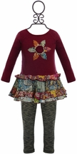 Mimi and Maggie Baby Girls Dress and Leggings