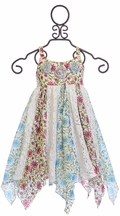 Mimi and Maggie Floral and Lace Dress for Girls (5 & 6X)