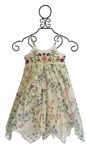 Mimi and Maggie Floral Summer Dress for Girls