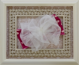 Mimi and Maggie Fuchsia French Bow Headband