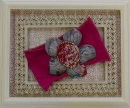 Mimi and Maggie Girls Headband with Flower