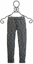 Mimi and Maggie Girls Leggings in Black and White