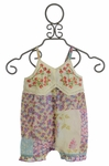 Mimi and Maggie Infant Romper for Girls in Fresh Bloom