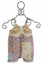 Mimi and Maggie Infant Romper for Girls in Fresh Bloom (Size 24Mos)