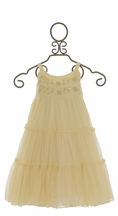 Mimi and Maggie Ivory Party Dress for Girls (5,6,6X,MD 10)
