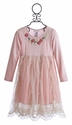 Mimi and Maggie Little Girls Pink Pirouette Dress