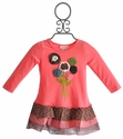 Mimi and Maggie Long Sleeve Dress for Infant Girls