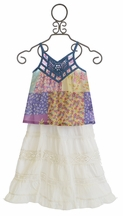 Mimi and Maggie Tween Skirt and Top Set Bohemian Style (4,5,6,6X)