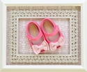 Mini Melissa Baby Girl Pink Flats with Bow