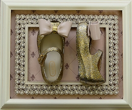 Mini Melissa Gold Glitter Ultragirl