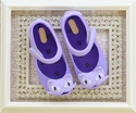 Mini Melissa Lilac Shoes with Cat