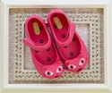Mini Melissa Little Girls Cat Shoes in Pink
