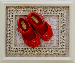 Mini Melissa Red Ballet Flat