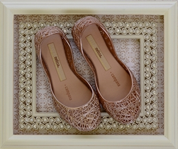 Mini Melissa Rose Gold Campana Flat