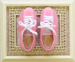 Mini Melissa Tennis Shoe for Girls in Pink (5,10,11,12)