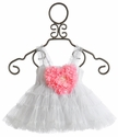 Mini Mini Baby Girl Sophia Heart Tutu Dress