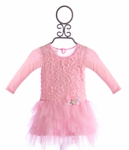 Mini Mini Infant Pink Tutu Dress Bow-Tacular (3Mos & 24Mos)