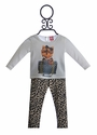 Mini Mini Infant Tunic and Legging Set Puppy Love