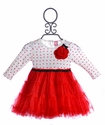 Mini Mini Infant Tutu Dress Red Heart Love