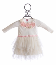 Mini Mini Ivory Tulle Infant Dress (24 Mos)